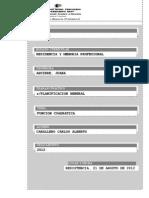 PLANIFICACION GENERAL - Ecuaciones y Sistemas de Ecuaciones