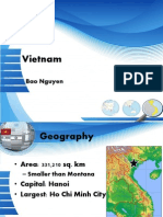 Vietnam Presentation of Current Economy and Government