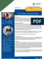 Manawatu Halls News Issue Five 2013