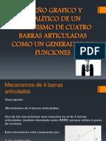 DISEÑO GRAFICO Y ANALÍTICO DE UN MECANISMO DE 4 (1)