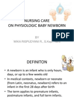 Nursing Care Baby Newborn