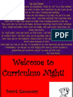 curriculum night13