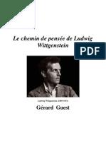 Gérard Guest - Les chamin de pensée Ludwig Wittgenstein