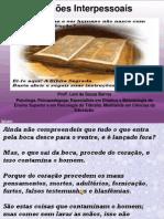 Relações Interpessoais com versículos biblicos