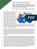 Atividades Filme Rio 1 Ano Escola Neli Helena