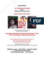 2013-05-01  Osorio de Rosen - Ausstellung zu 150 Jahren SPD
