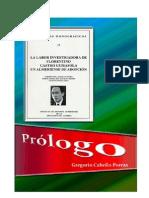 "Prologo ""Labor investigadora de Florentino Castro Guisasola"""