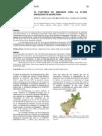Documentación de factores de amenaza para la flora cactológica del Semidesierto Queretano