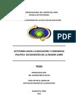 Doctorado de La Educacion Nicanor Moya 2010