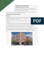 dministración y Gestión Hospitalaria