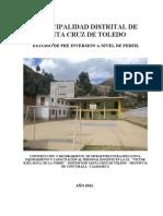 Perfil Sta. Cruz de Toledo