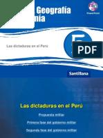 Dictduras en El Peru