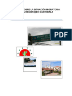 ESTUDIO COMUNIDADES de Migrantes Region III Avances
