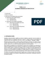 Tema 1.2.1 Desequilibrios Hidroelectroliticos