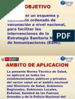 Calendario de Vacunacion 2011