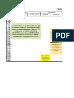 Cronograma Actividades Facultad de Salud