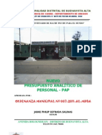 Pap Buenavista Alta 2011 Om 007-2011