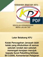 Yus Kelab Pencegahan Jenayah (Kpj) 2013