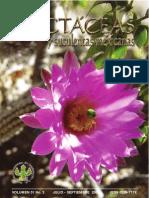 Estado de conservación de Echinocereus schmollii en Cadereyta Querétaro