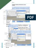 Nota Penggunaan Formula Excel 2