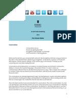 Ashwin Malshe - Social Media Marketing Syllabus 2014 ESSEC