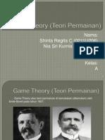 Game Theory (Teori Permainan)
