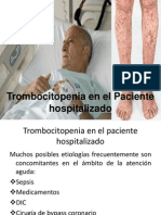 Enfoque Al Pte Con Trombocitopenia