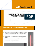 immersion heaters presentation 2012