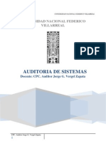 Auditoria de Sistemas Unfv.