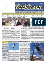 The Village Reporter - August 21st, 2013