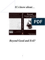 Do RCs Know about Beyond Good and Evil?