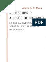 Redescubrir a Jesus de Nazaret - Dunn_ James D G
