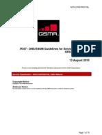 GSMA IR67 5.1 - GSMA DNS Guidelines