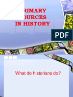 Primary Sources History