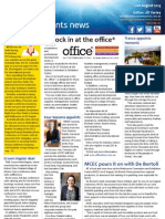 Business Events News for Wed 21 Aug 2013 - Clock in at the office, Politics and small business, Wellington