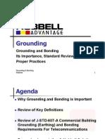 Grounding Webinar Hubbell (EIA TIA)