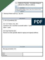 2013 Training Sheet 4