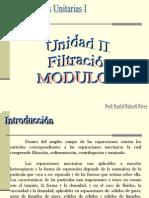 Filtración(I)