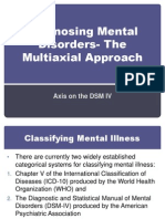 2 diagnosing mental disorders- the multiaxial approach