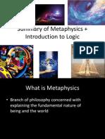 Logic and Metaphysics Summary
