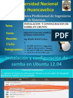 Instalacion de Samba