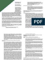 Digested Cases on Certiorari Prohibition and Mandamus