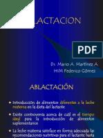 Ablactacion