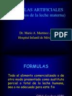 Formulas Artificiales