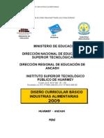 27068033 Diseno Curricular Basico de Institutos Superior Tecnologicos Ley 29394