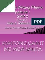 Wastong Gamit ng mga Salita.ppt