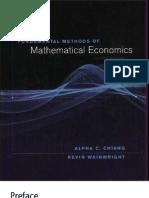 Alpha Chiang Fundamentos Economia Matematica