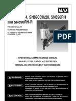 SN890 Framing Nailer 110606