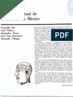 El sentido actual de la filosofia en méxico-Villoro, Zea, et. Al.