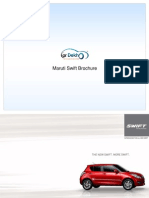 Maruti Swift Brochure